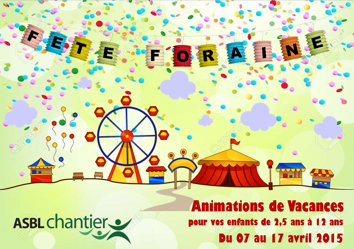 Animations de Vacances Avril 2015